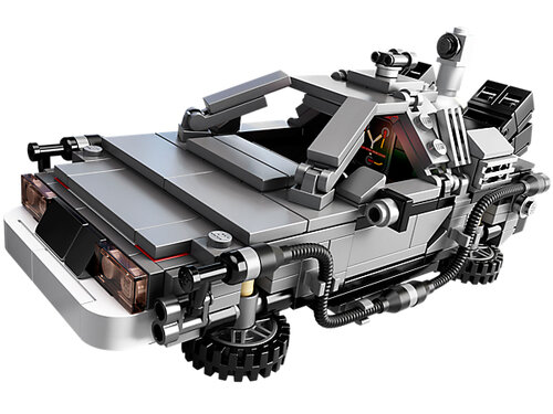 Lego The DeLorean time machine 21103 #5