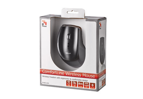 Trust ComfortLine Wireless Mouse - 4