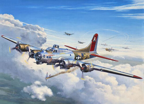 Revell B-17G Flying Fortress #2