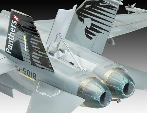Revell F/A-18C Hornet Swiss Air Force #3