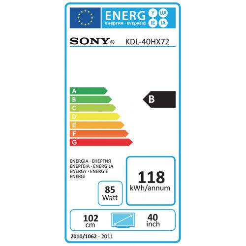 Sony KDL-40HX723 - 6