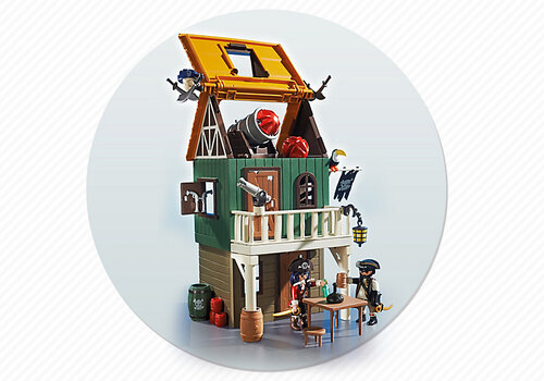 Playmobil Super 4 Camouflage Pirate Fort with Ruby 4796 #4