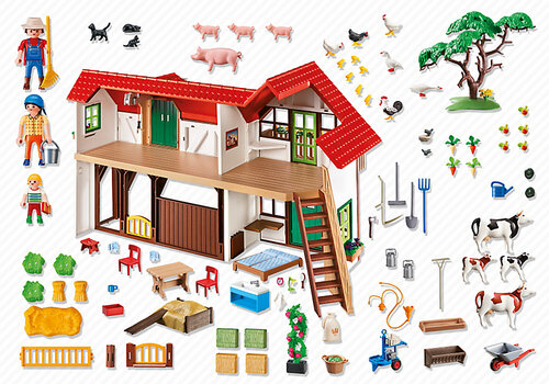 Playmobil Country Large Farm 6120 #2