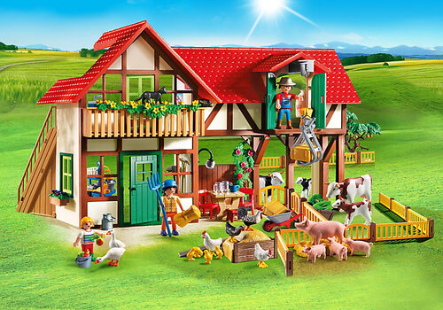 Playmobil Country Large Farm 6120 #3