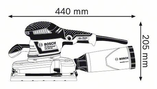 Bosch GSS 280 AVE Professional - 1