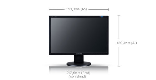 Samsung SyncMaster 2043NW - 3