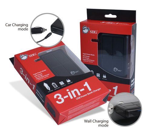 Siig 3-in1 Power Bank Charger #6