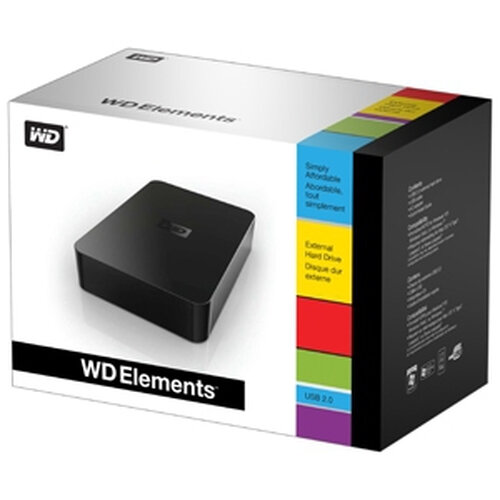 Western Digital Elements Desktop 1TB - 2