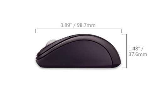 Microsoft Wireless Notebook Optical Mouse 3000 - 3