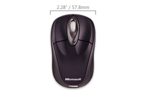 Microsoft Wireless Notebook Optical Mouse 3000 - 4