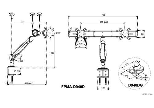Newstar FPMA-D940D - 4