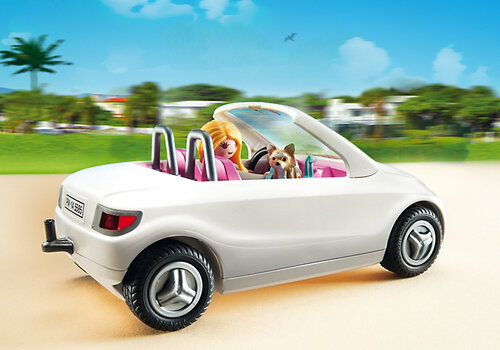 Playmobil City Life Convertible with Woman and Puppy 5585 #4