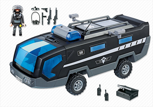 Playmobil City Action SWAT Command Vehicle 5564 #2
