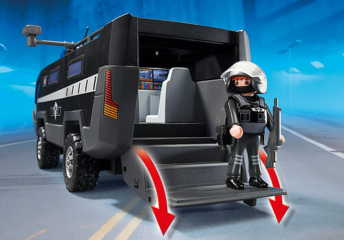 Playmobil City Action SWAT Command Vehicle 5564 #3