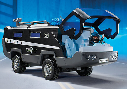 Playmobil City Action SWAT Command Vehicle 5564 #4