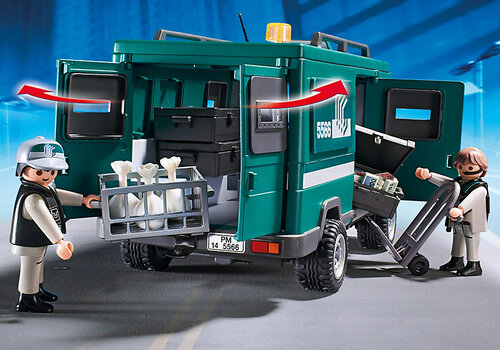 Playmobil City Action Money Transport Vehicle 5566 #3