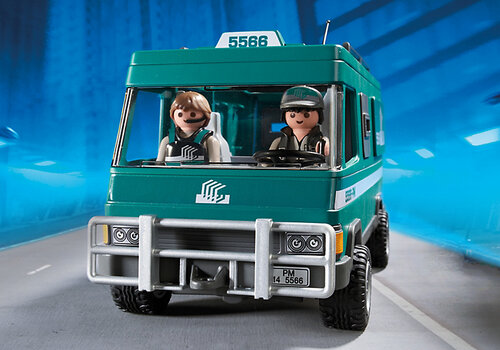 Playmobil City Action Money Transport Vehicle 5566 #6