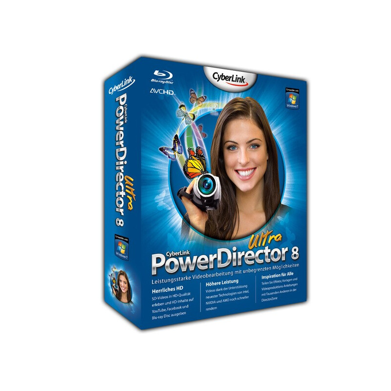 Cyberlink PowerDirector 8 Ultra #1