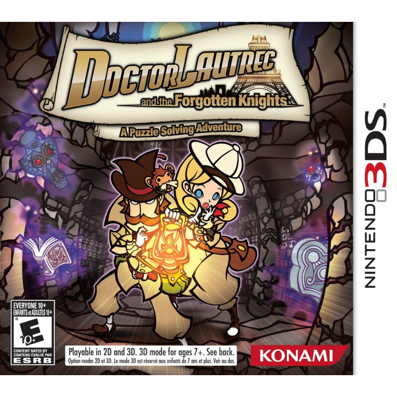 Konami Doctor Lautrec and the Forgotten Knights (Nintendo 3DS) #1