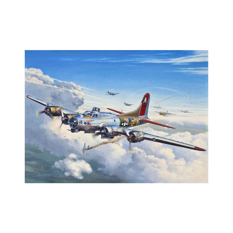 Revell B-17G Flying Fortress #1