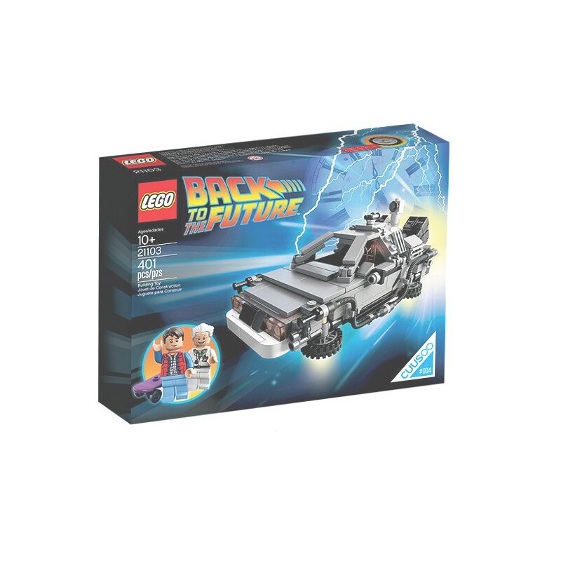 Lego The DeLorean time machine 21103 #1