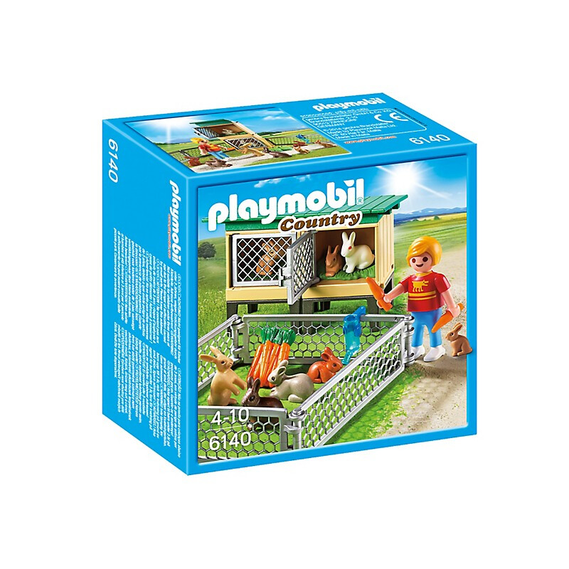 Playmobil Rabbit Pen with Hutch #1