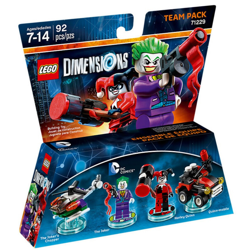 Lego DC Comics Team Pack 71229 #1