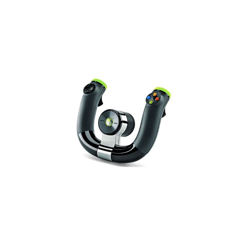 Microsoft Xbox 360 Wireless Speed Wheel #1