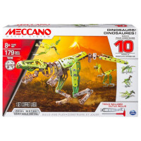 Meccano 10 Model Set, Dinosaurs