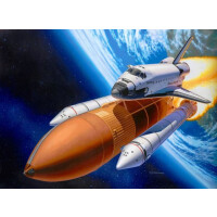 Revell Space Shuttle Discovery + Booster Rockets