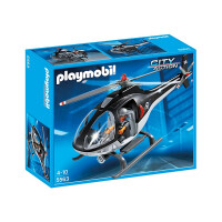 Playmobil City Action SWAT Helicopter 5563
