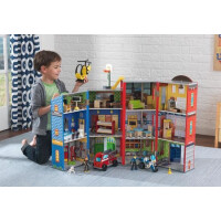 KidKraft Everyday Heroes Wooden Play Set - 12